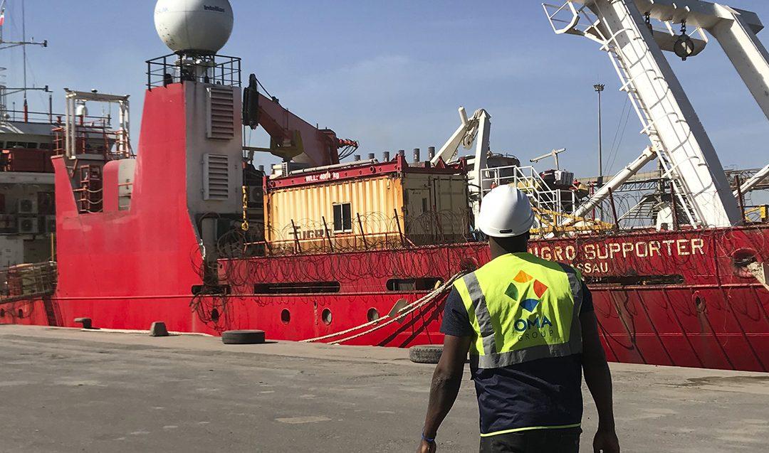 OMA Senegal assists geo-data specialist Fugro